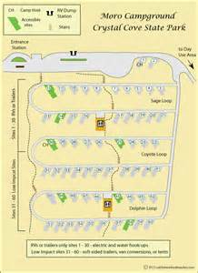 Crystal Cove State Park Map by Gallery For Gt Crystal Cove State Park Map