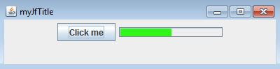 overlay layout java java how to overlay a jbutton over a jprogressbar
