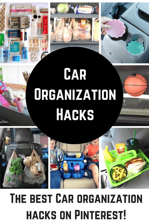 organizing hacks 12 cool car organization hacks princess pinky girl