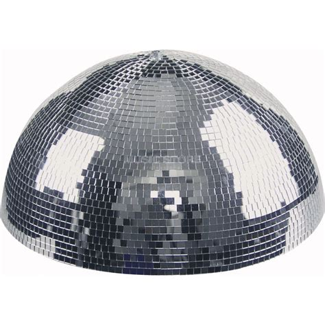 gts half discoball lightmaxx mirrorball half 40cm inkl motor