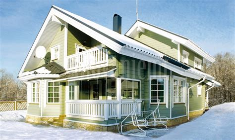 cottage rovaniemi lapland compact and functional cottage by