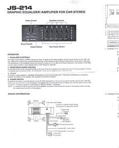 realistic 40 watt equalizer booster wiring diagram : 50