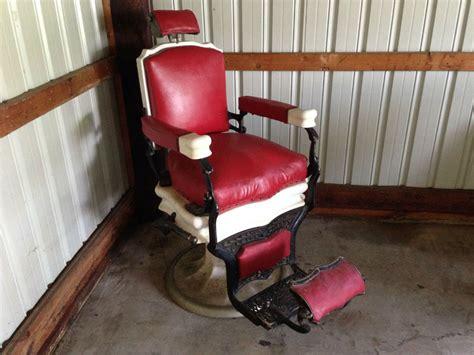 Koken Barber Chair For Sale by Unrestored Koken Barber Chair