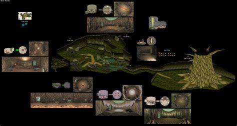 legend of zelda oot map the video game atlas n64 maps