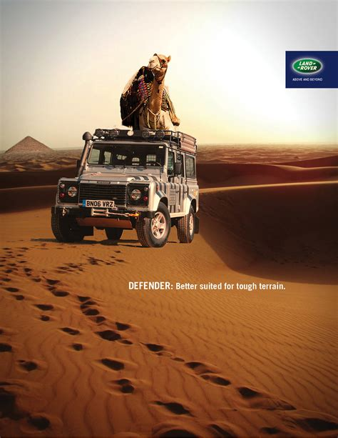 vintage land rover ad land rover defender ad caign