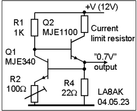 proper transistor lifier operation bias regulator for linear lifier