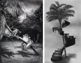 surreal pencil drawings by gonzalo fuenmayor are beyond