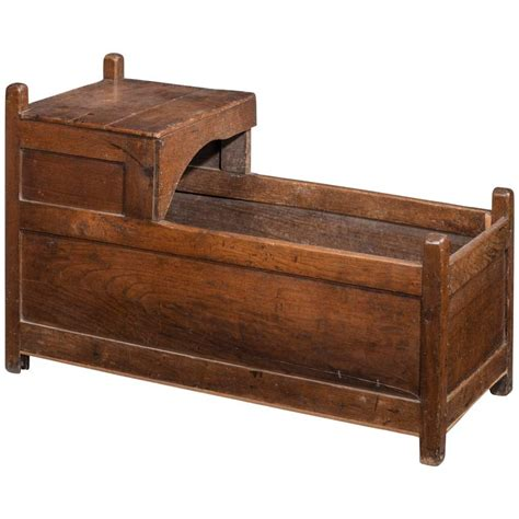 Oak Cribs For Sale Mid 18th Century Oak Crib For Sale At 1stdibs