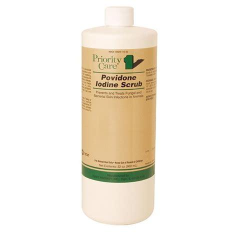 povidone iodine for dogs povidone iodine scrub 75 32 oz gregrobert