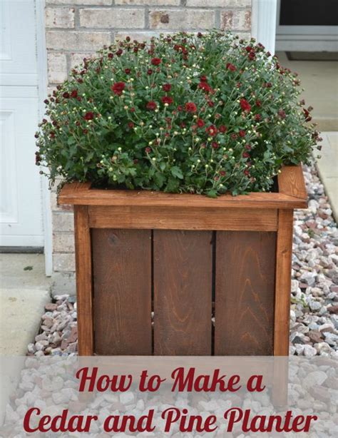 How To Make A Planter How To Make Planters