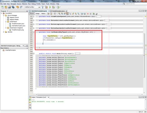 netbeans tutorial for c tutorial crear un formulario de datos en netbeans java
