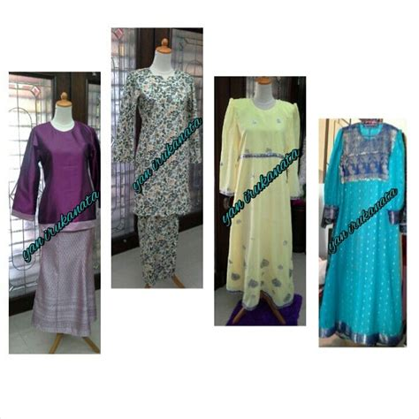 fesyen baju long dress terkini dari kain sari tempahan kain sari utk jubah baju kurung pahang dan baju