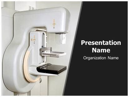 Mammography X Ray Machine Powerpoint Template Background Subscriptiontemplates Com Powerpoint Templates For Machines