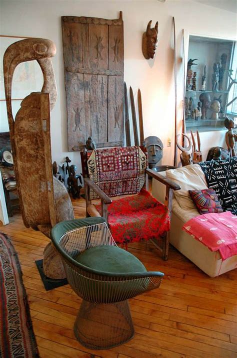 create beautiful african inspired interiors   mix