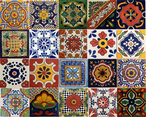 Mexican Handcrafted Tile - 44 top talavera tile design ideas