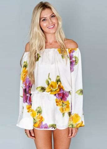 Stripes Rane Top show me your mumu rane romper in floating floral