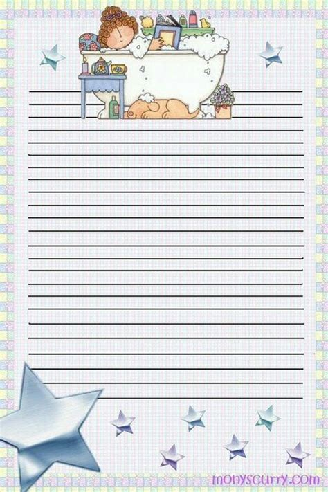 free printable lined writing paper for adults 351 best images about stationery borders for adults on