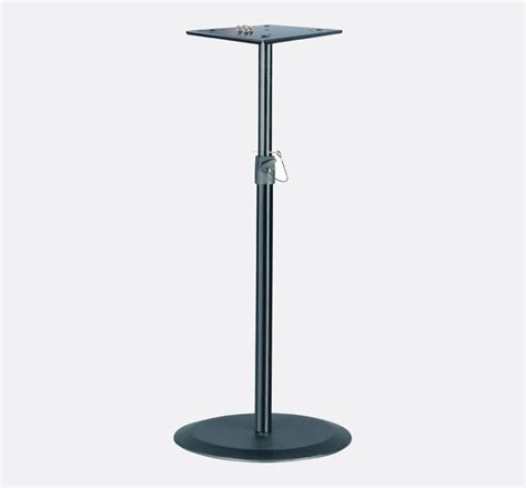 Monitor Floor Stand by K M 26740 Monitor Loudspeaker Stand Floor Base