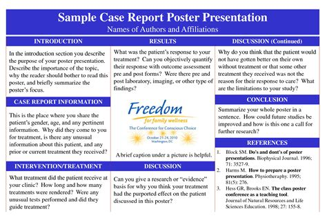 Poster Presentation For Case Report Google Search Poster Presenation Pinterest Poster Report Poster Template