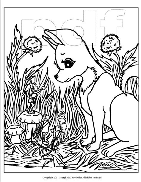 intricate fantasy coloring pages items similar to fantasy coloring page printable