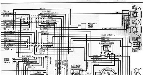 electrical wiring diagram   chevrolet