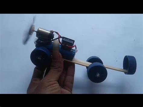 youtube membuat es krim mainan ide kreatif membuat mobil mainan bertenaga angin dari stik