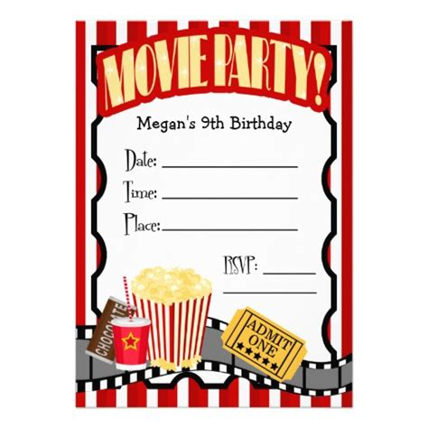movie party invitations blank template 313084 jpg 512 215 512