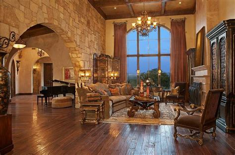 tuscan living tuscan style living rooms pinterest