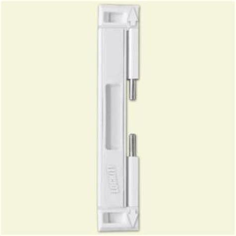 Lockit Double Bolt Sliding Glass Door White Lock Lockit Bolt Sliding Glass Door Lock