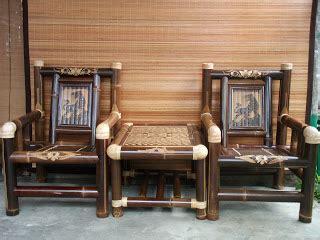 Berapa Kursi Bambu rasidi m pd kerajinan bambu rotan dan kursi