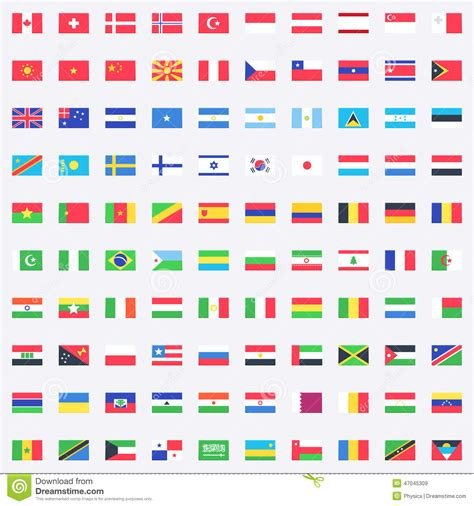flags of the world website vector flags icons stock vector image of national icon