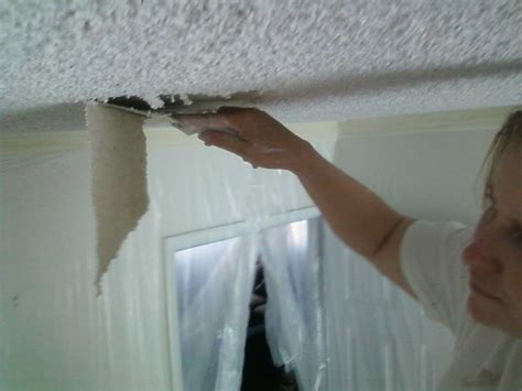 what paint to use on popcorn ceiling roofing paint popcorn ceiling with plastic white how to