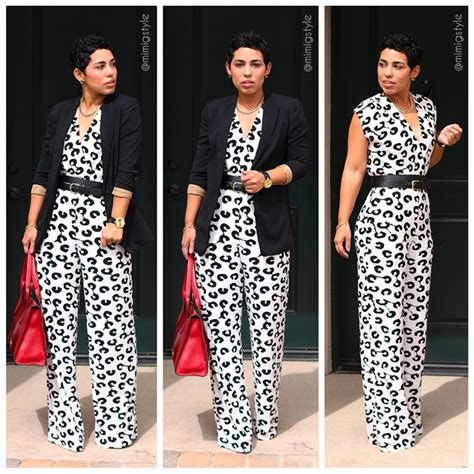 diy jumpsuit diy spotted jumpsuit fossil bag fashion lifestyle and diy