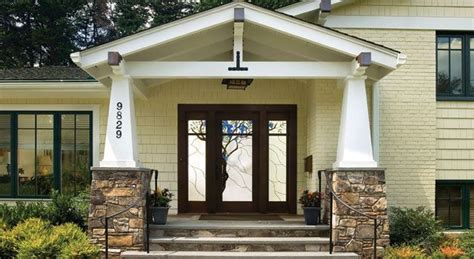 front porch designs for split level homes split level turned craftsman tri level remodel ideas