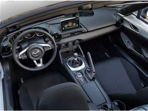 mazda miata 2017 interior 2017 mazda mx 5 miata interior u s news world report