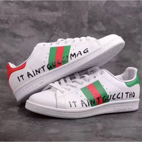 adidas  stan smith  gucci sneaker shoes shopee malaysia