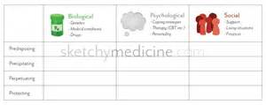 Formulation Template by Biopsychosocial Formulation For Psychiatry With Printable