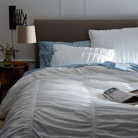 parachute bedding parachute shams white west elm