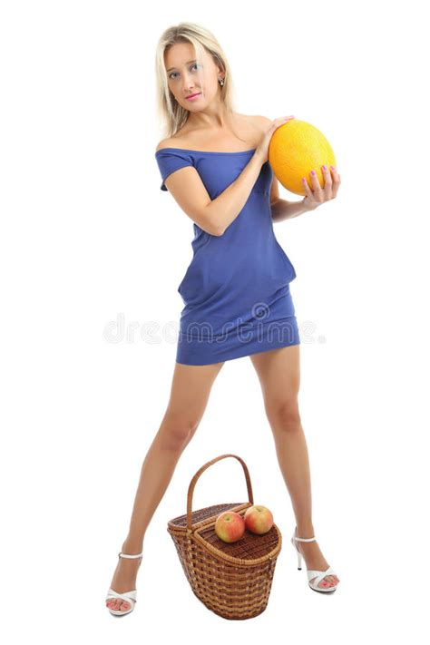 dressing for 34 yr old girl 34 years old in blue skin tight dress with melon