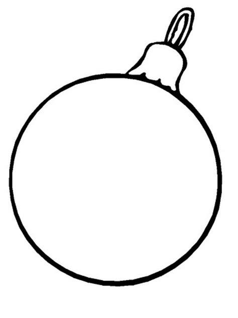 color christmas ball ornament template disegni di natale per bambini