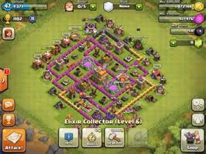 Clash of clans town hall and layout on pinterest