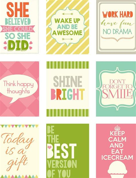 printable stickers quotes ink and wink quotes featured image planners and