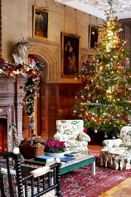 Christmas Decoration Ideas For Home by Traditional English Decoration Holker Hall Christmas