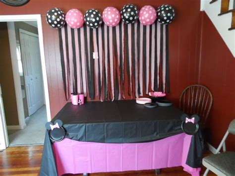 Minnie Mouse Decorations Diy by Dollar Store Minnie Mouse Diy Decorations Like The