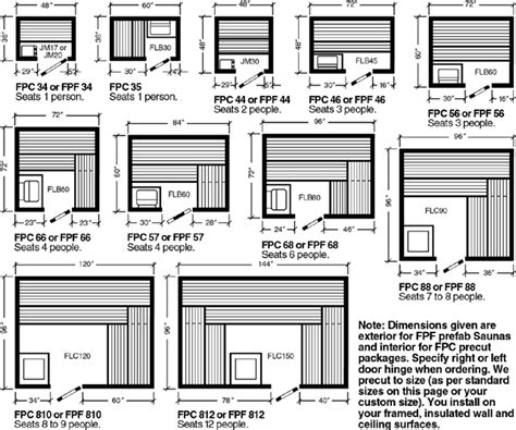 Sauna Floor Plans by Sauna Layout Best Sauna From Luxaris The Best In Sauna