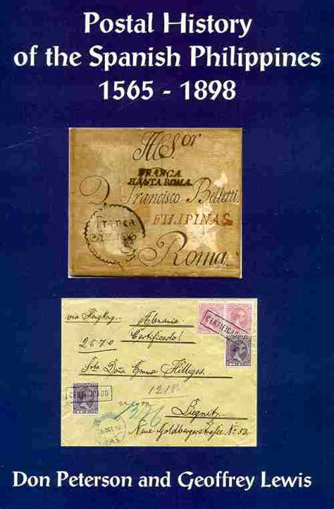 a history of spain books philippines postal history 1565 1898