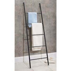 Porte Serviette Echelle Bambou #4: Porte-serviettes-echelle-acier.jpg