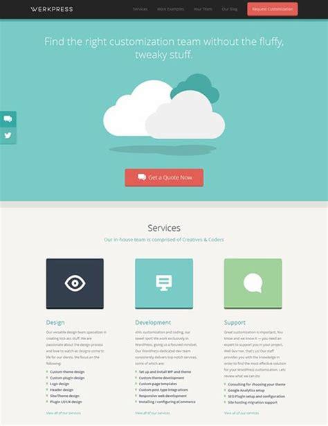 web design inspiration joomla 20 flat website layouts inspiration