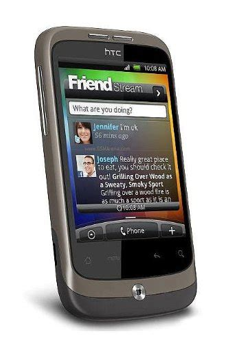 Hp Htc Wildfire A3333 Htc A3333 Wildfire Brown Touchscreen Unlocked Gsm Cell Phone Wildfire 112 56 Unlocked