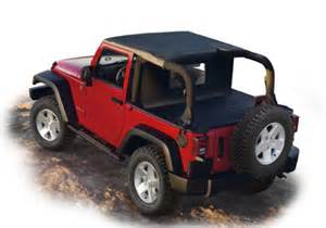 Tonneau Covers Jeep Wrangler Mopar Oem Jeep Wrangler Sun Bonnet Tonneau And